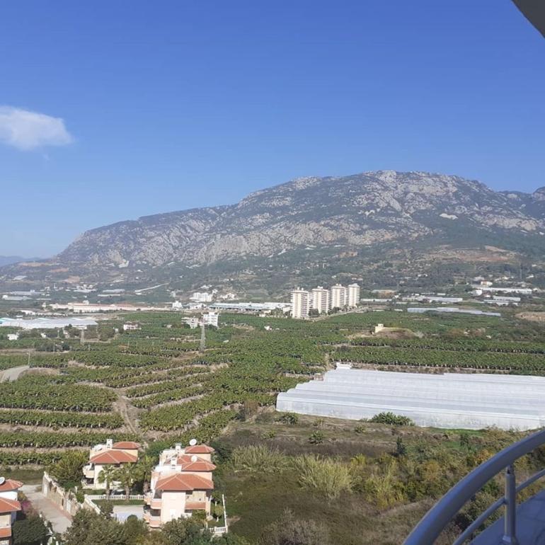 Вид с балкона на горы Торос (таврические горы).