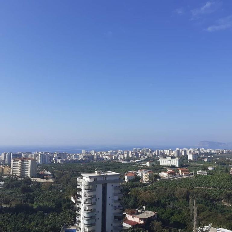 Квартира с видом на средиземное море Турции.