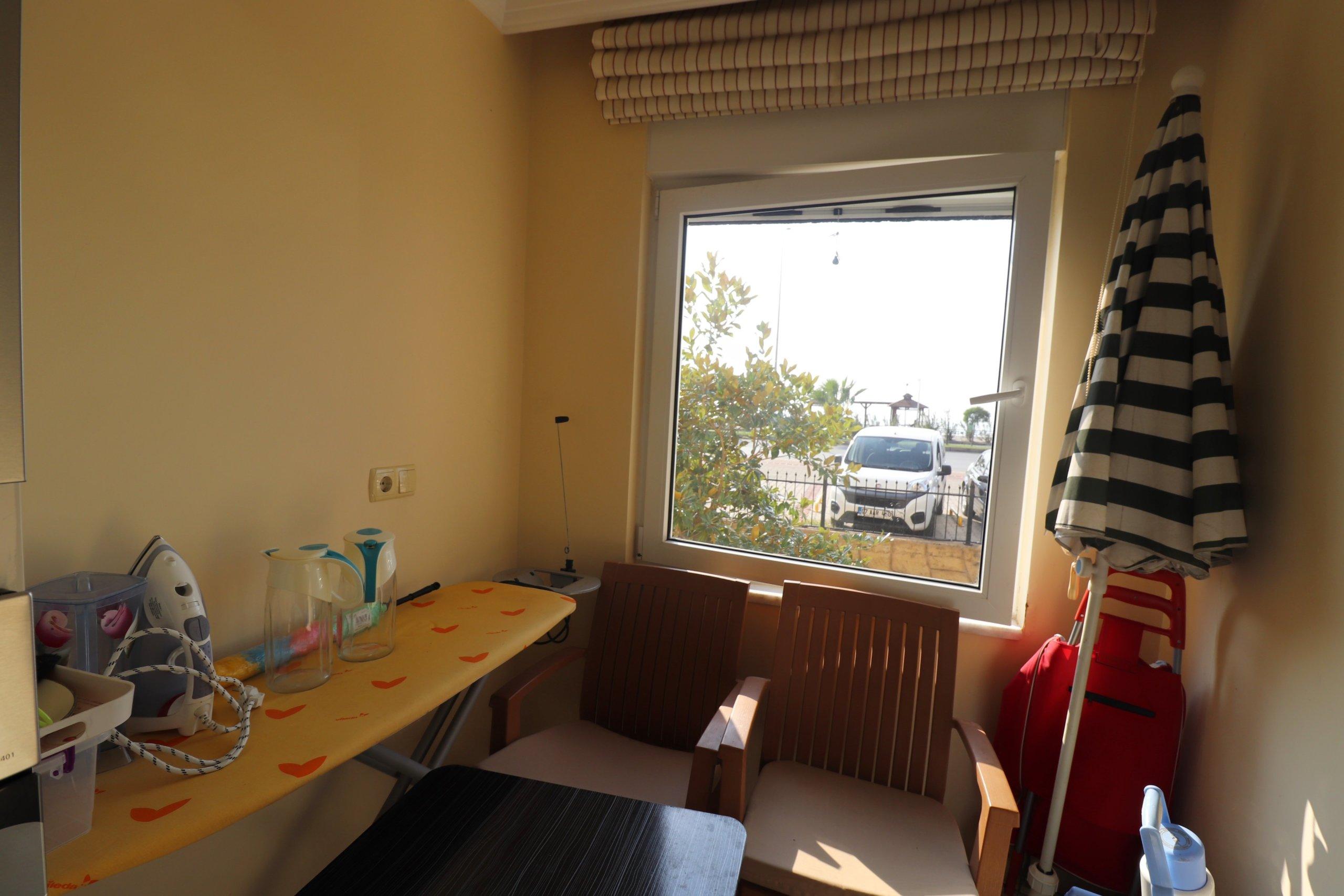 Меблированная 2+1 Квартира на первой линии моря