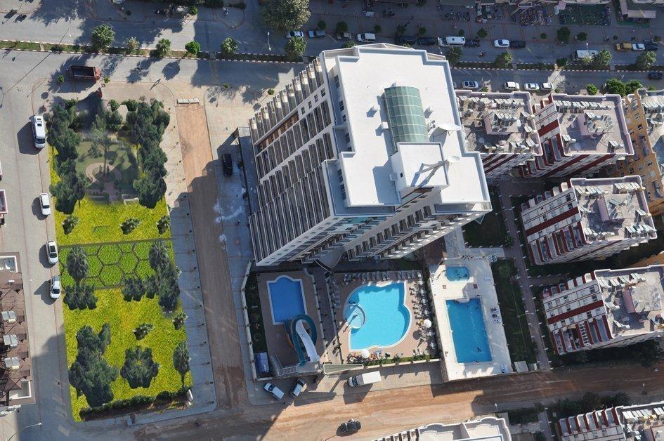 2+1 Пентхаус в жилом комплексе с отельной инфраструктурой