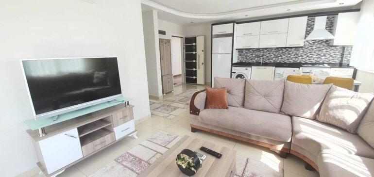 Алания Махмутлар Меблированная Квартира 1+1в Комплексе
