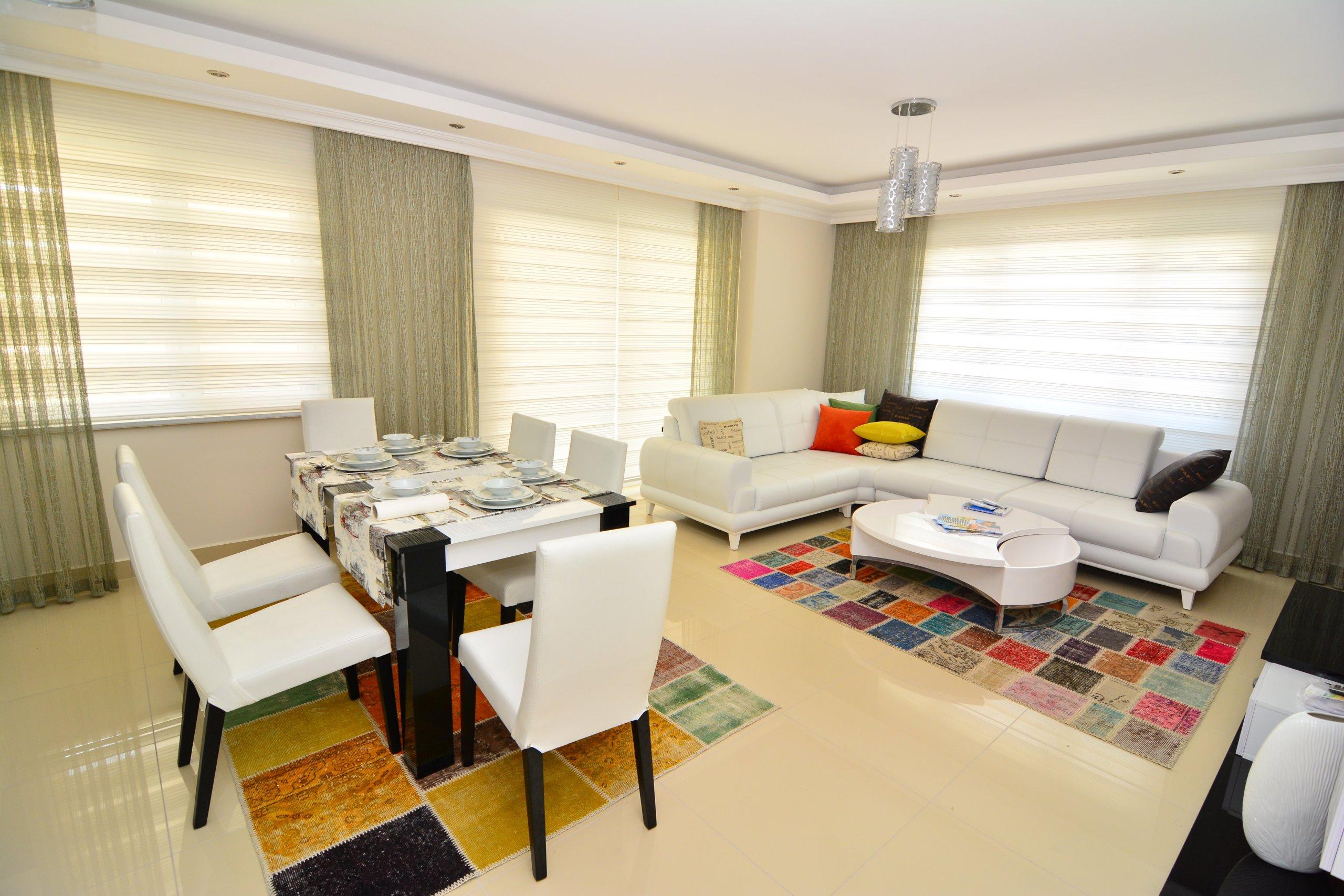 Красивая квартира  2+1 в Махмутларе