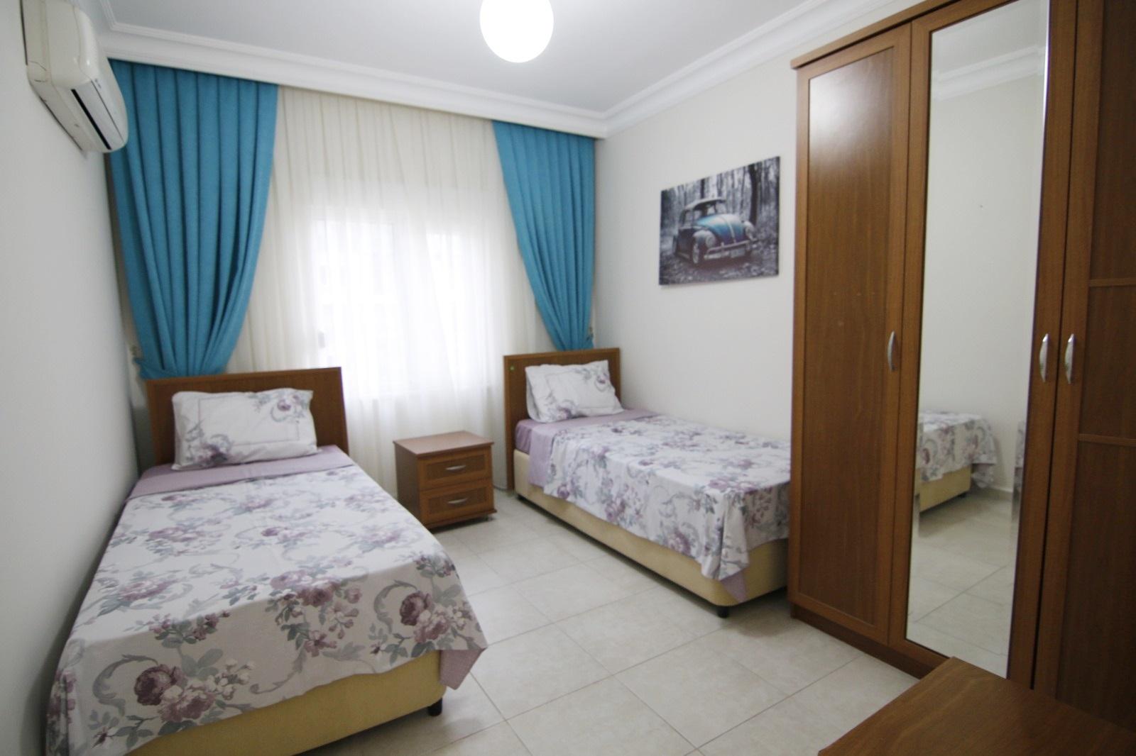 Очень просторная 2+1 квартира на 7 этаже с видом на горы
