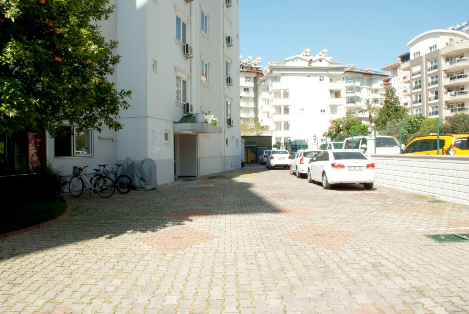 1+1 Меблированная квартира в жилом комплексе с собственным садом