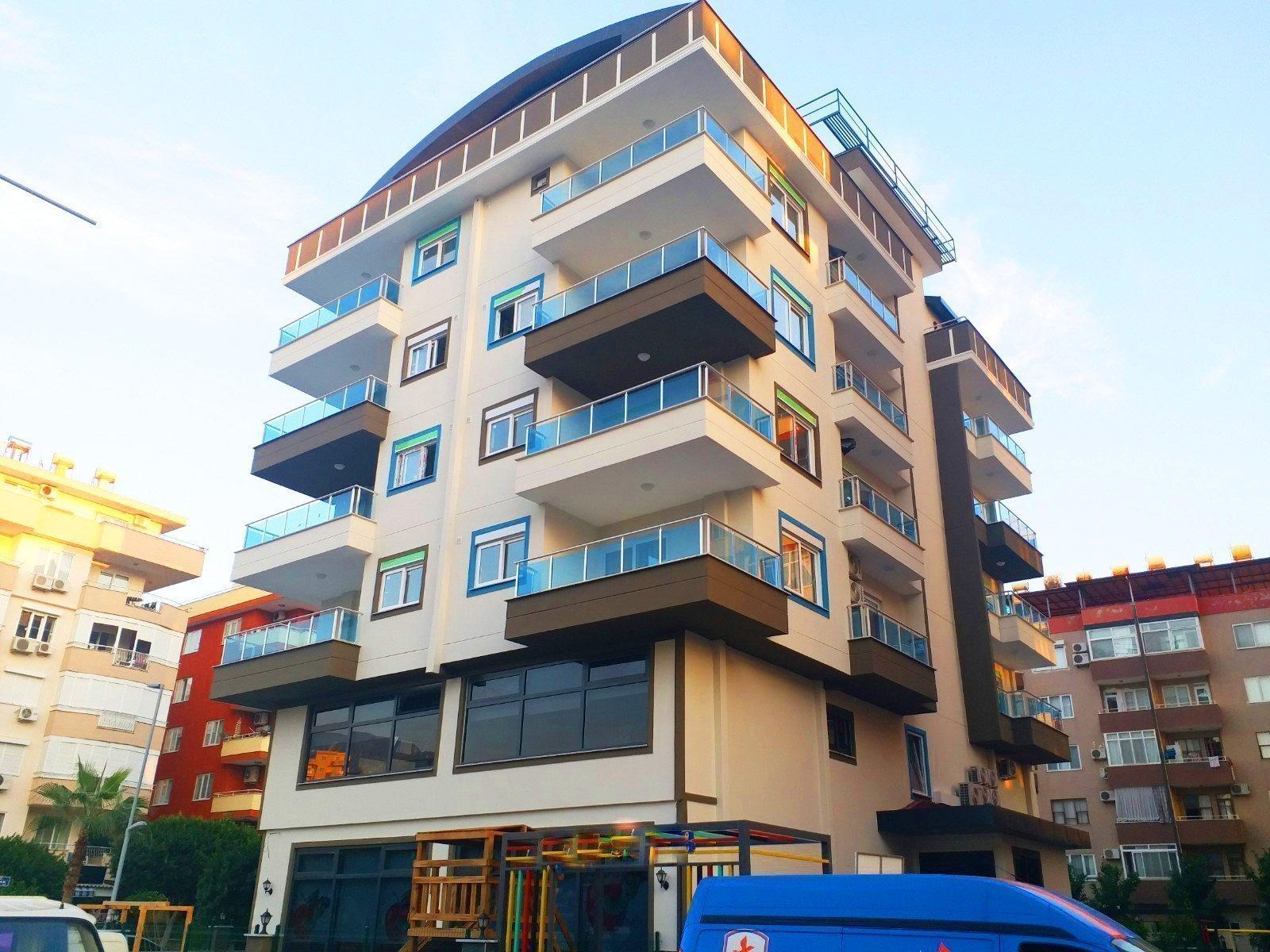1+1 Квартира в новом доме на 3-м этаже