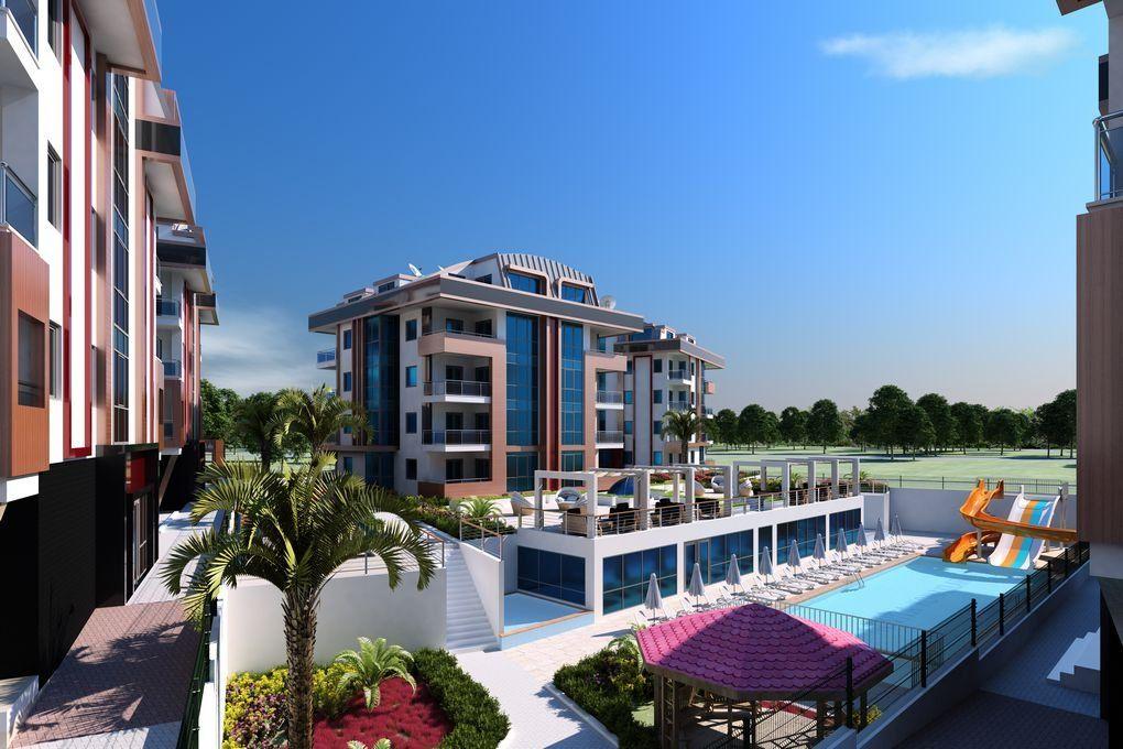 Квартиры для отдыха и проживания в новом жилом комплексе