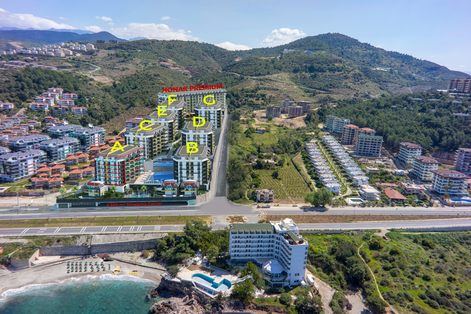Ультра элитные апартаменты в уникальном комплексе на первой береговой, в рассрочку