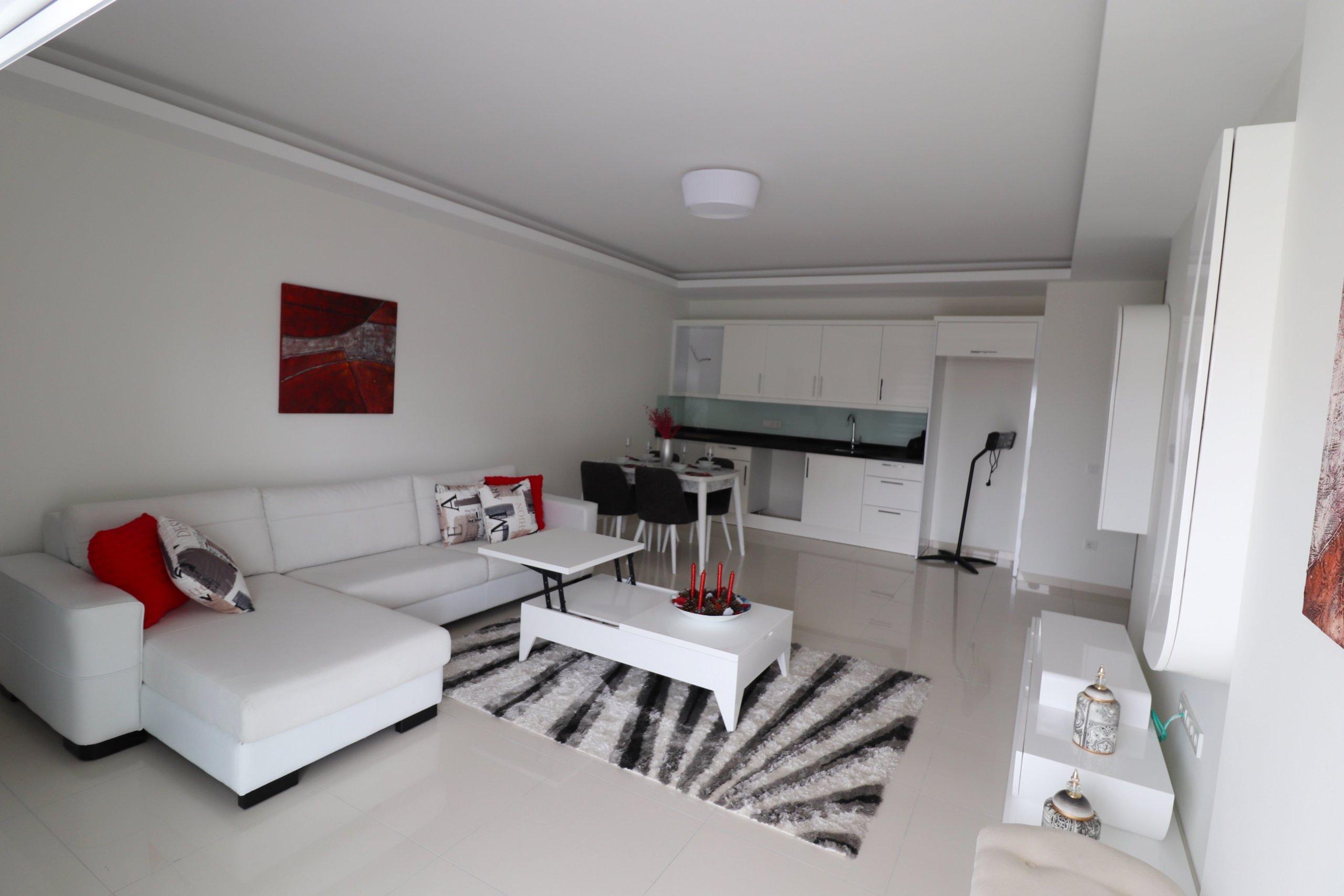 1+1 Квартира в жилом комплексе в Махмутларе