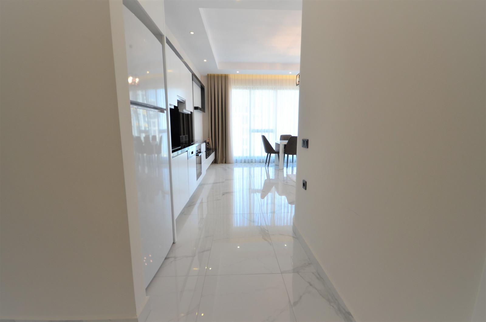 Алания Каргыджак Квартира 2+1 в Строящемся Комплексе Класса Люкс