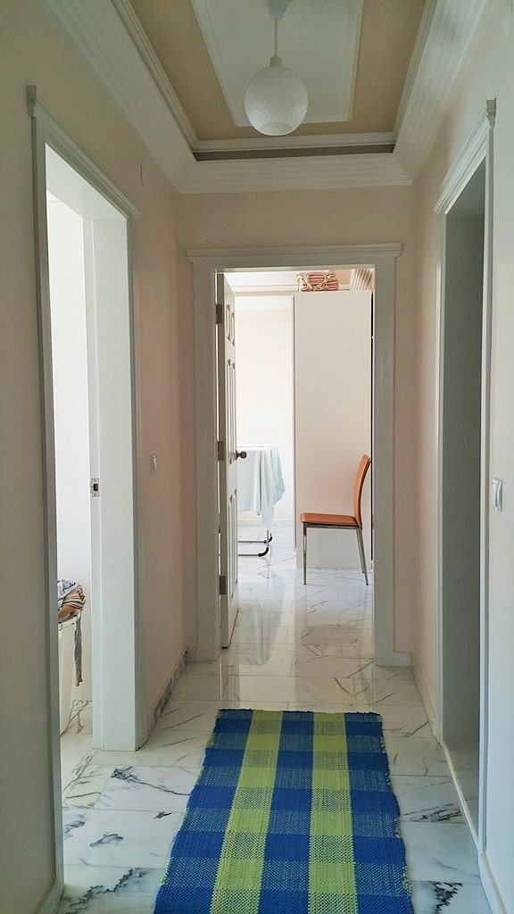2+1 Квартира в жилом комплексе на первой береговой линии в Тосмуре