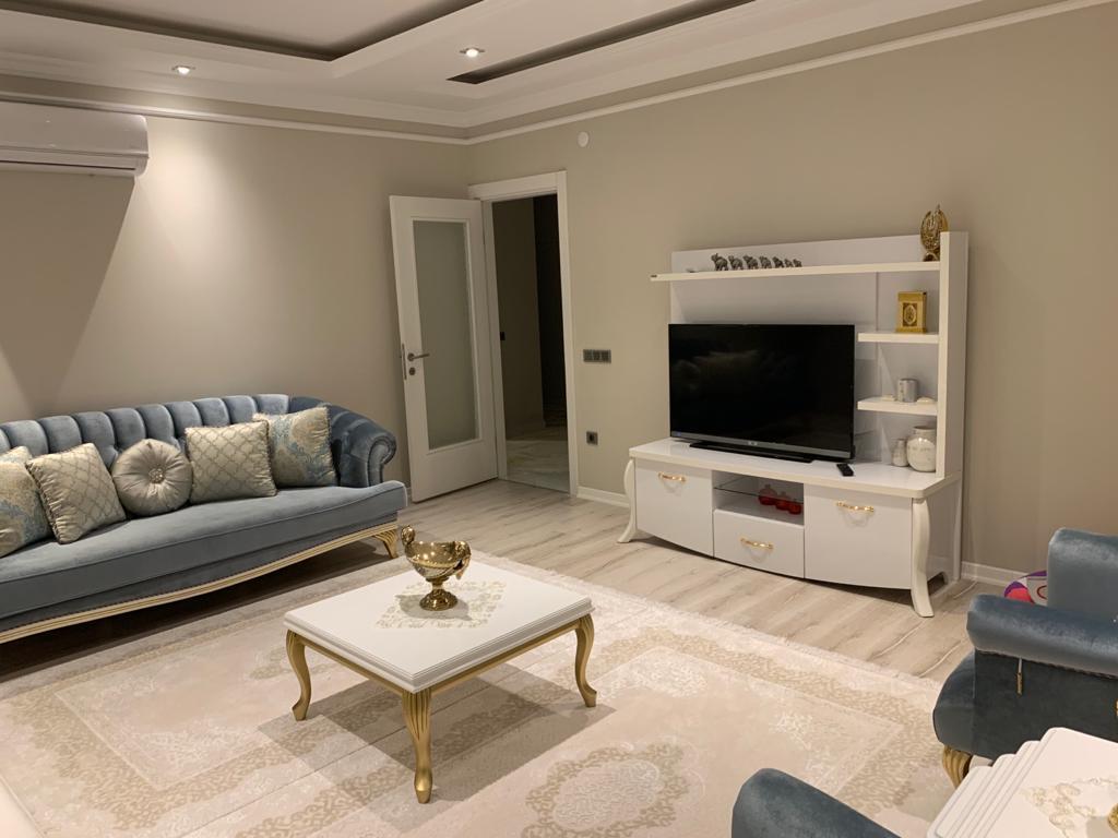 3+1 Новая квартира класса люкс с видом на море и горы