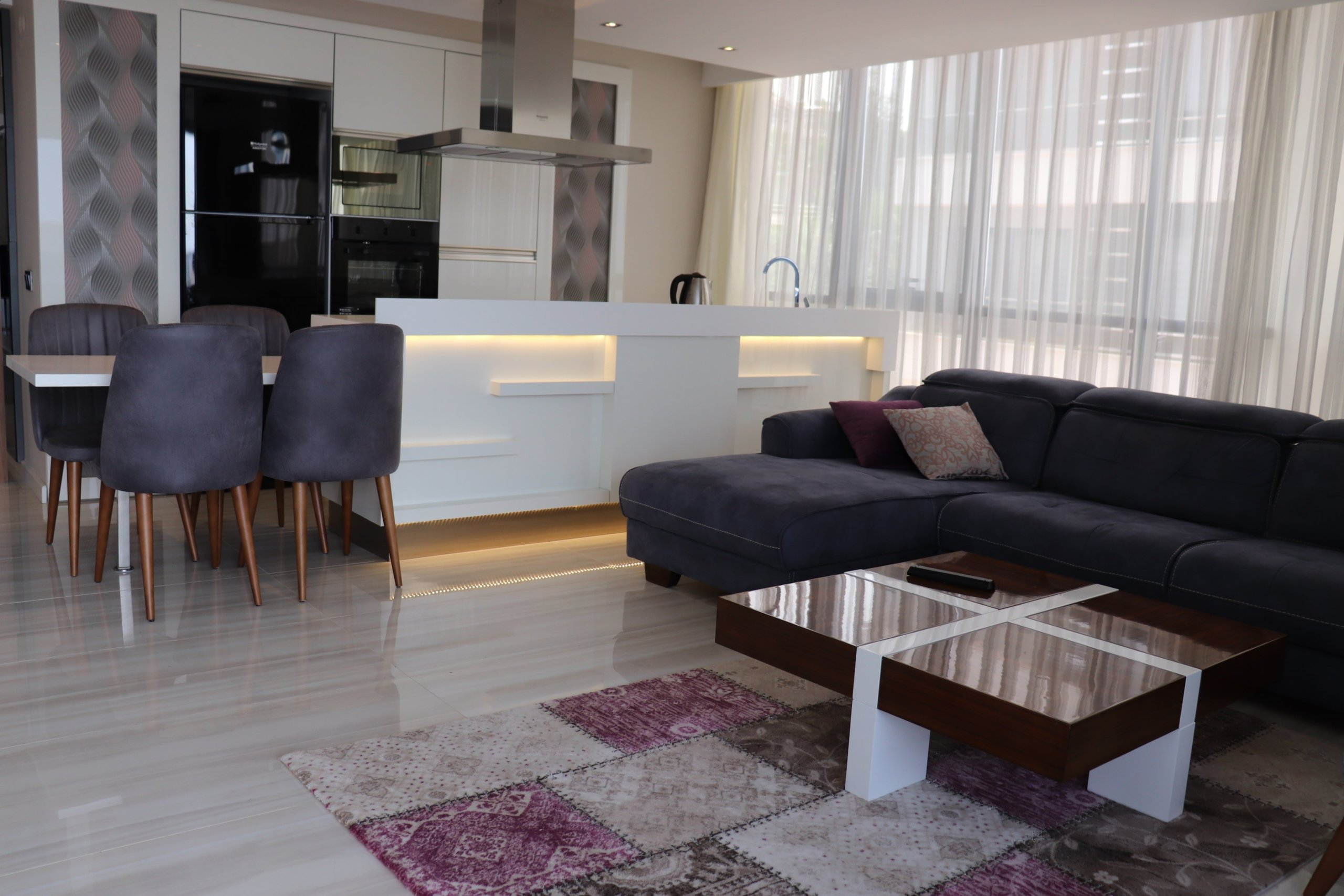Новые квартиры класса люкс с панорамным видом на море и горы