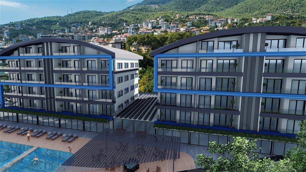 1+1 Квартиры и 2+1 Пентхаусы в жилом комплексе на стадии строительства