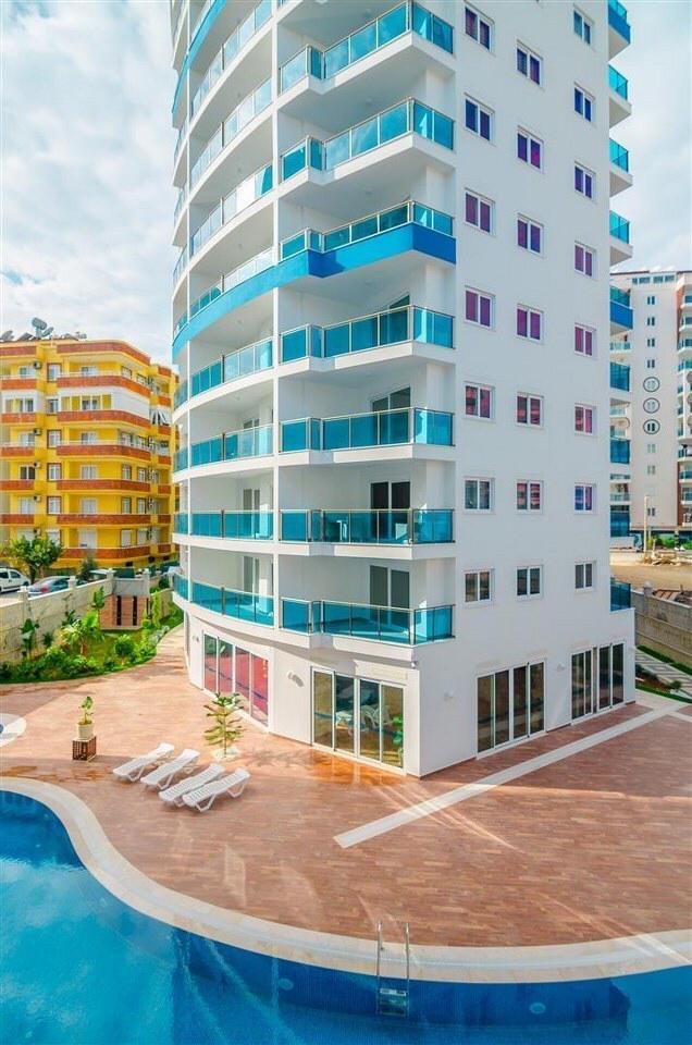 Алания Махмутлар продажа квартиры 1+1 в резиденции