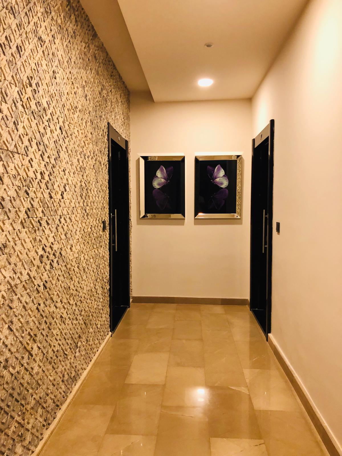 3+1 в центре Махмутлара дуплекс с видом на море и сауной в ванной