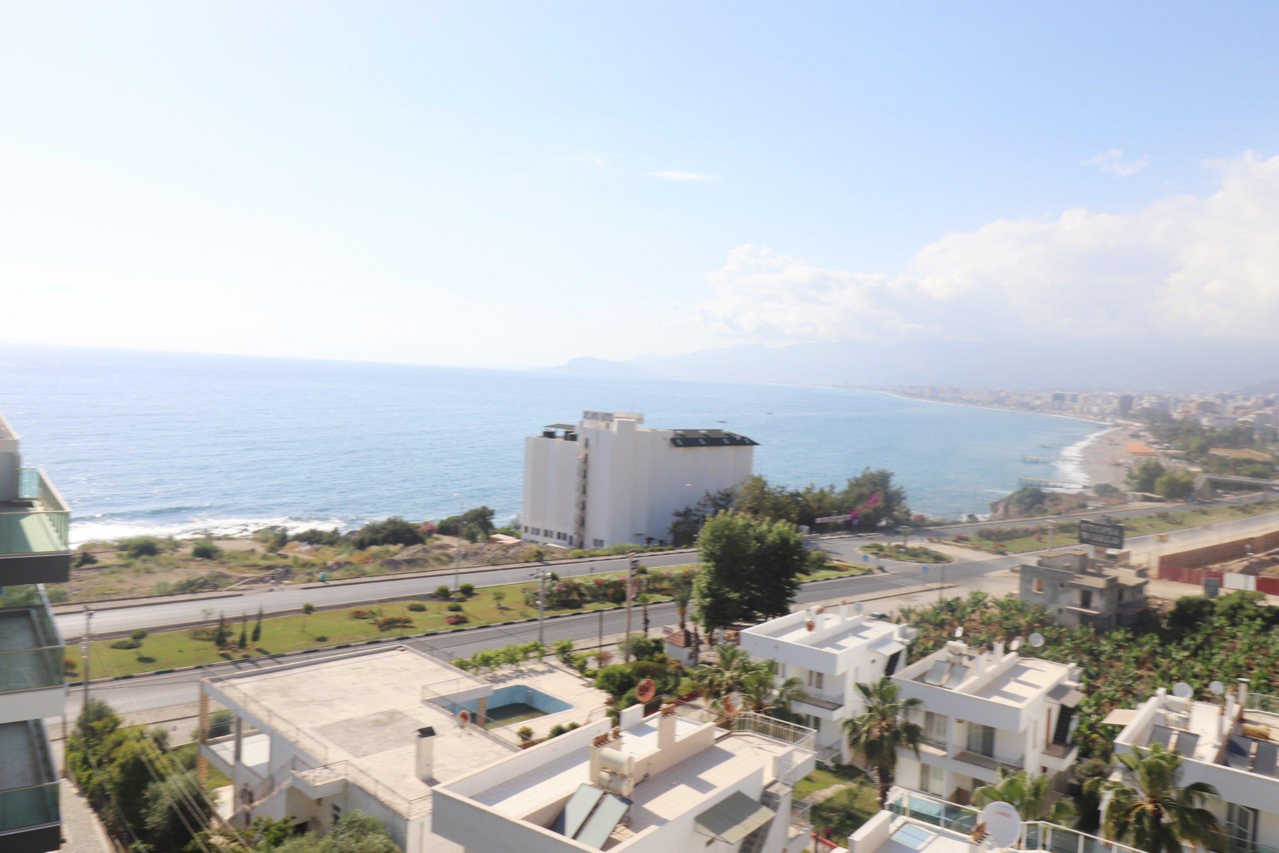 Алания Каргыджак 3 + 1 роскошный пентхаус с видом на море