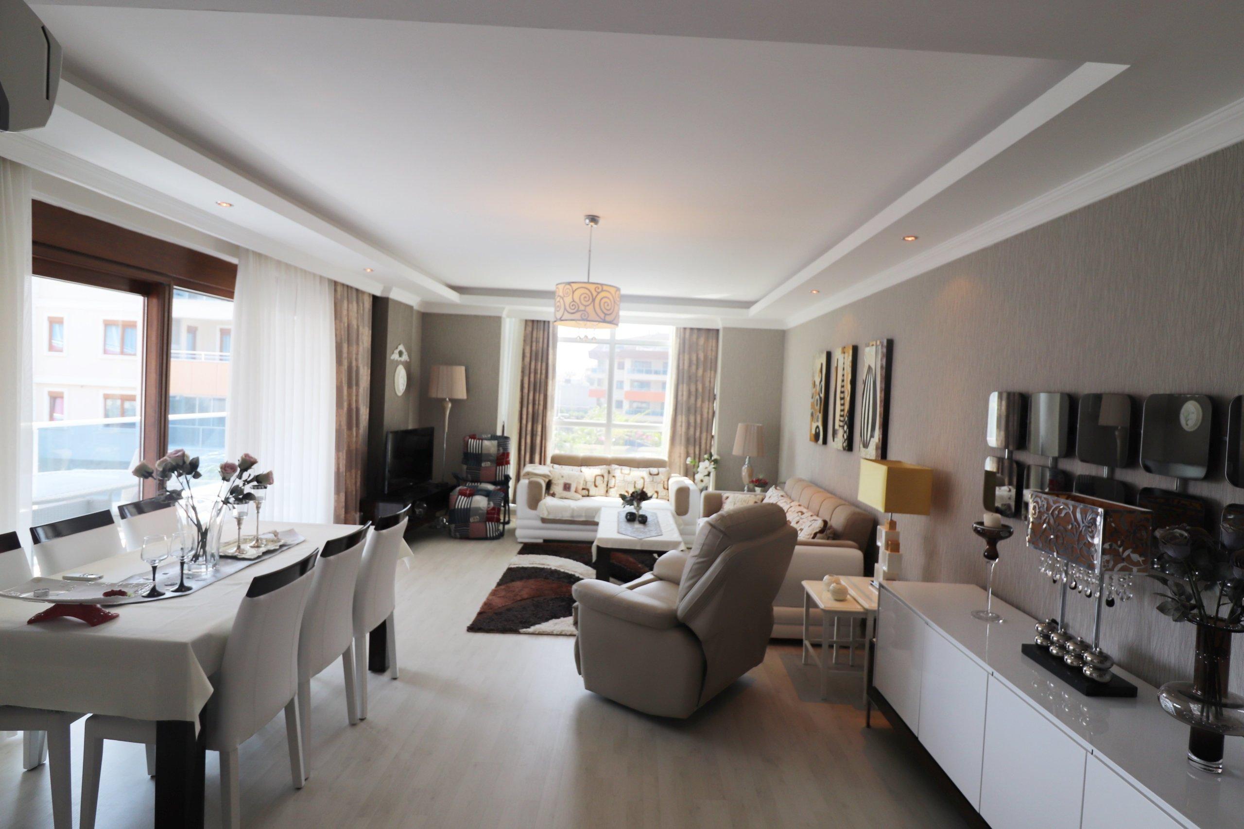 Стильная обустроенная 2+1 квартира в самом престижном районе города