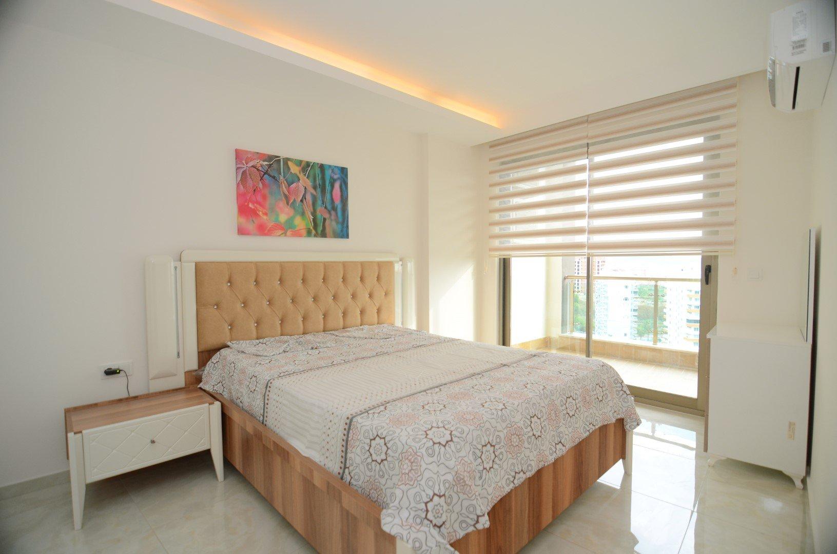 Двухкомнатная меблированая квартира с видом на море и горы в люкс резиденции включающей Спа-Центр