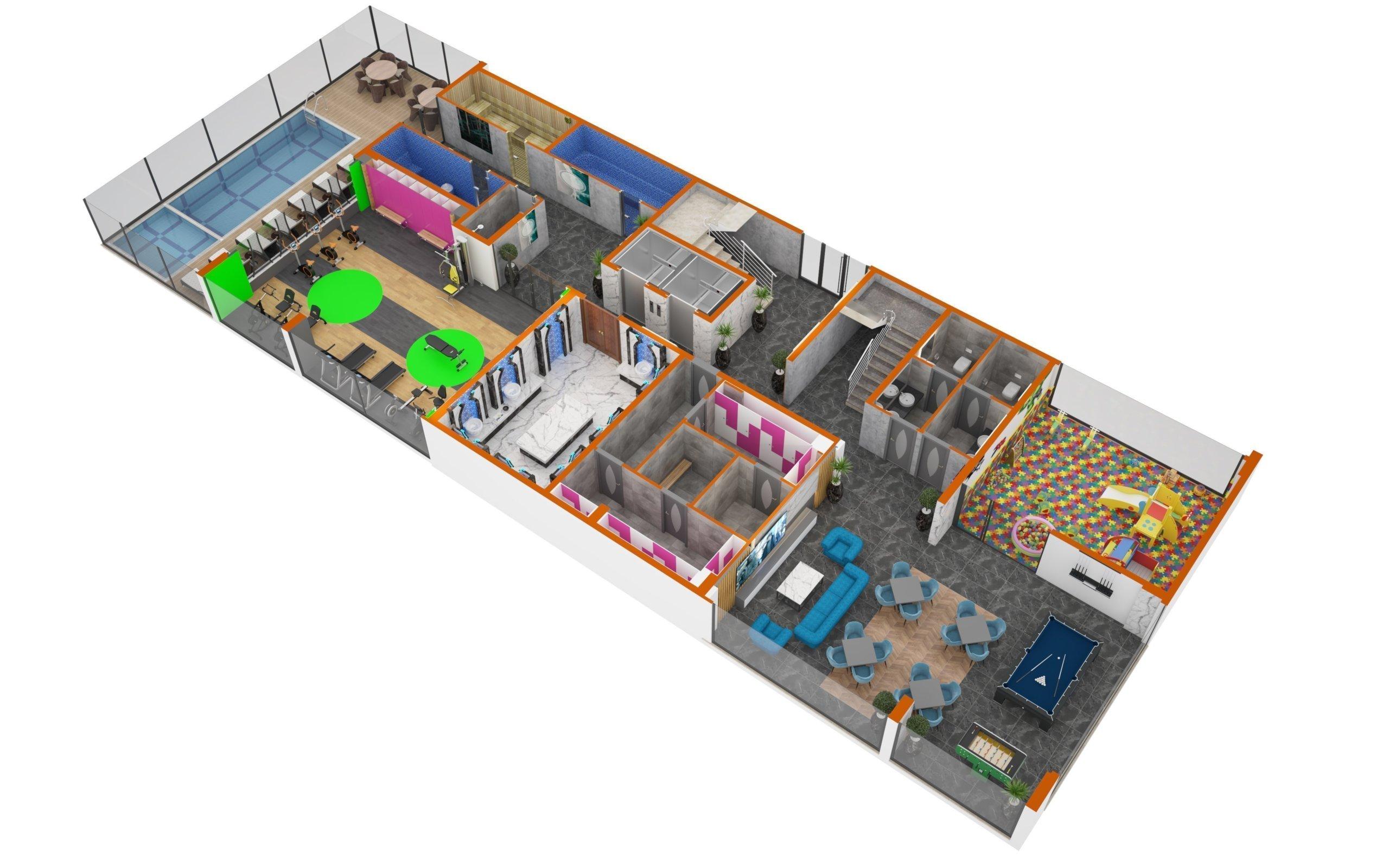 2+1 Квартиры класса люкс на этапе строительства в рассрочку