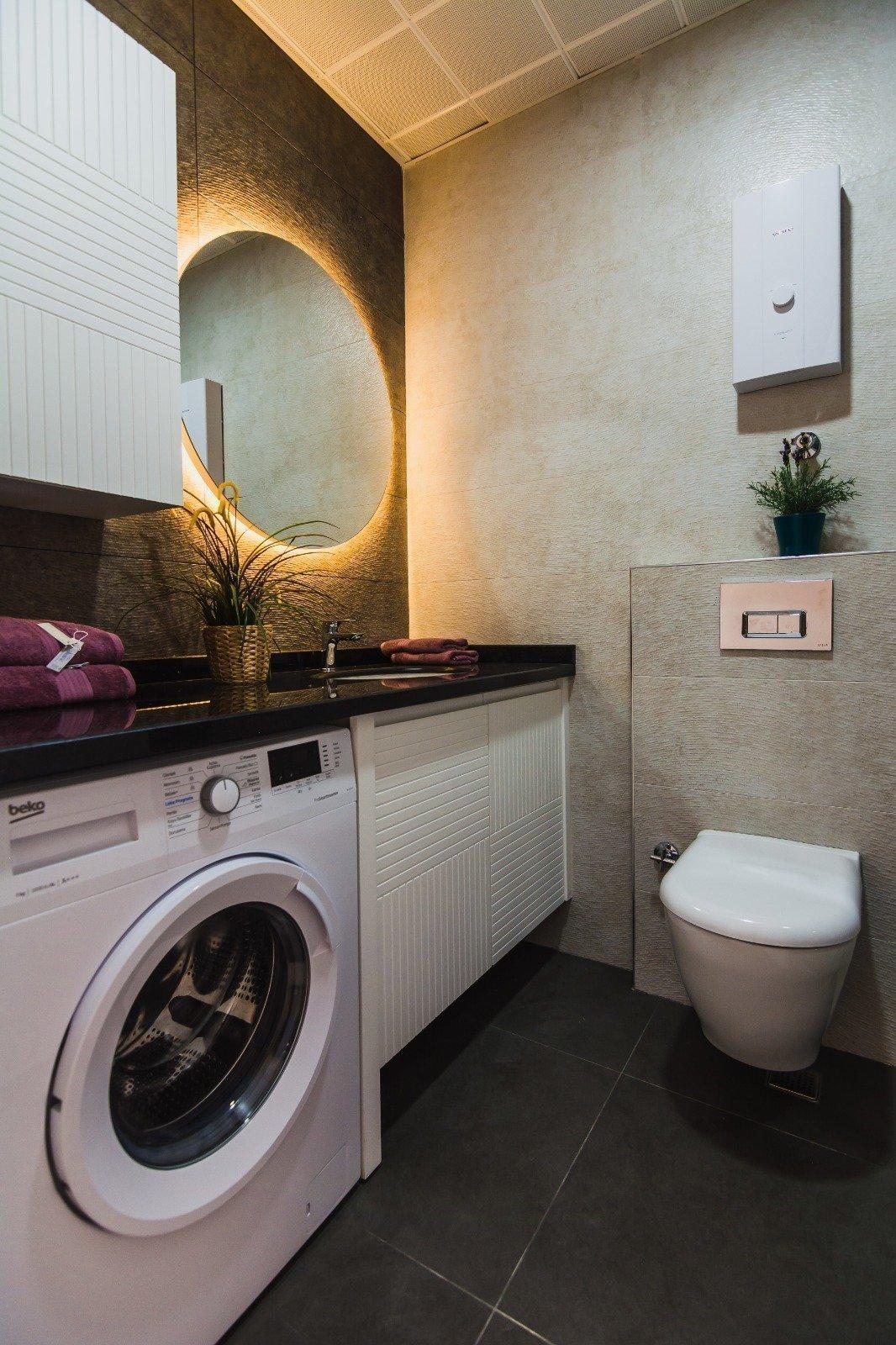 Очень просторная шикарная 3+1 квартира с отдельной кухней