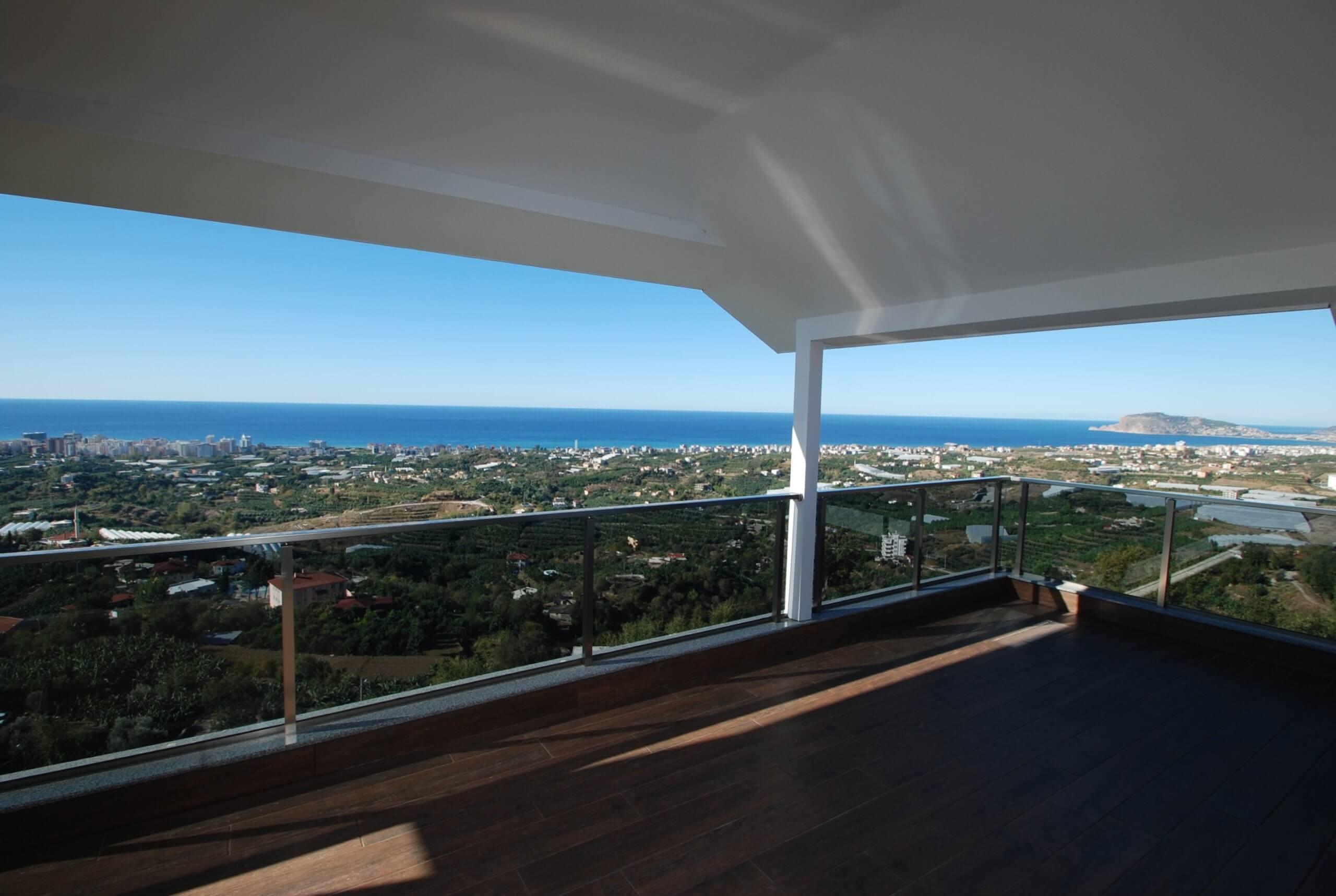 4+1 Частная вилла с панорамным видом на море
