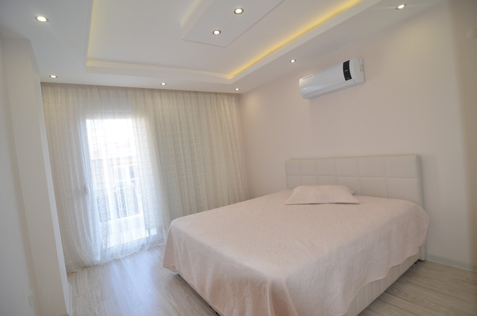 1+1 Просторная меблированная квартира в Кестеле