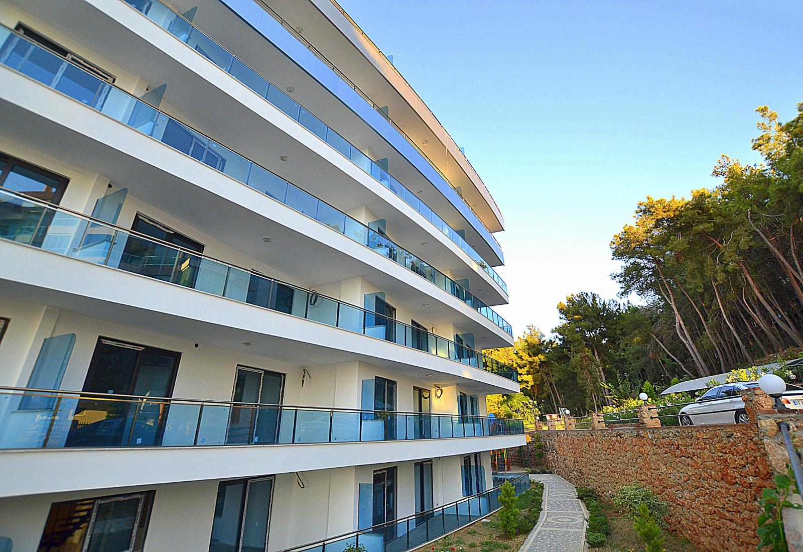 Новая квартира у самого моря в эко районе Каргыджак