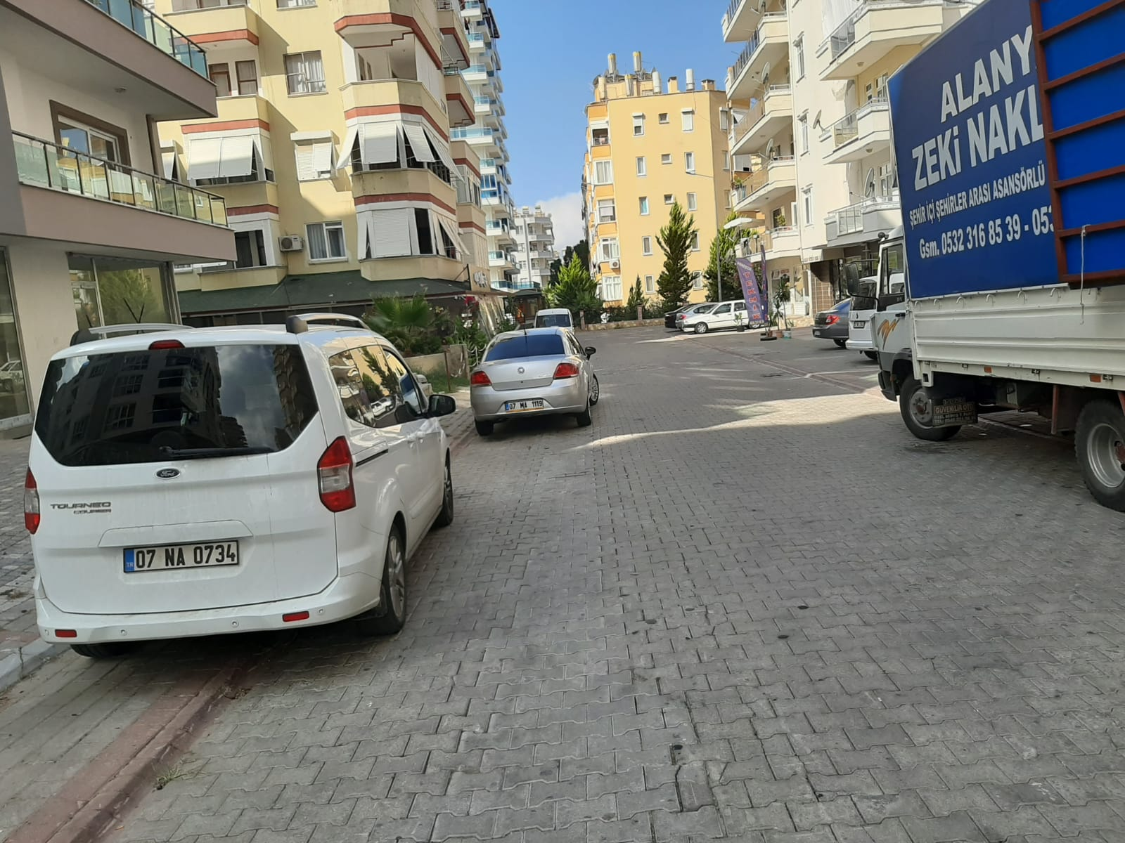 Алания Махмутлар продажа квартиры 1+1 с мебелью