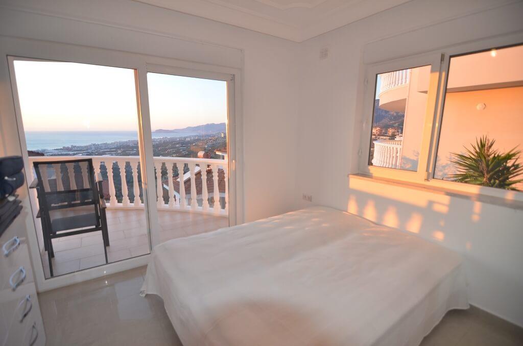 5+1 Частная меблированная вилла с красивым панорамным видом