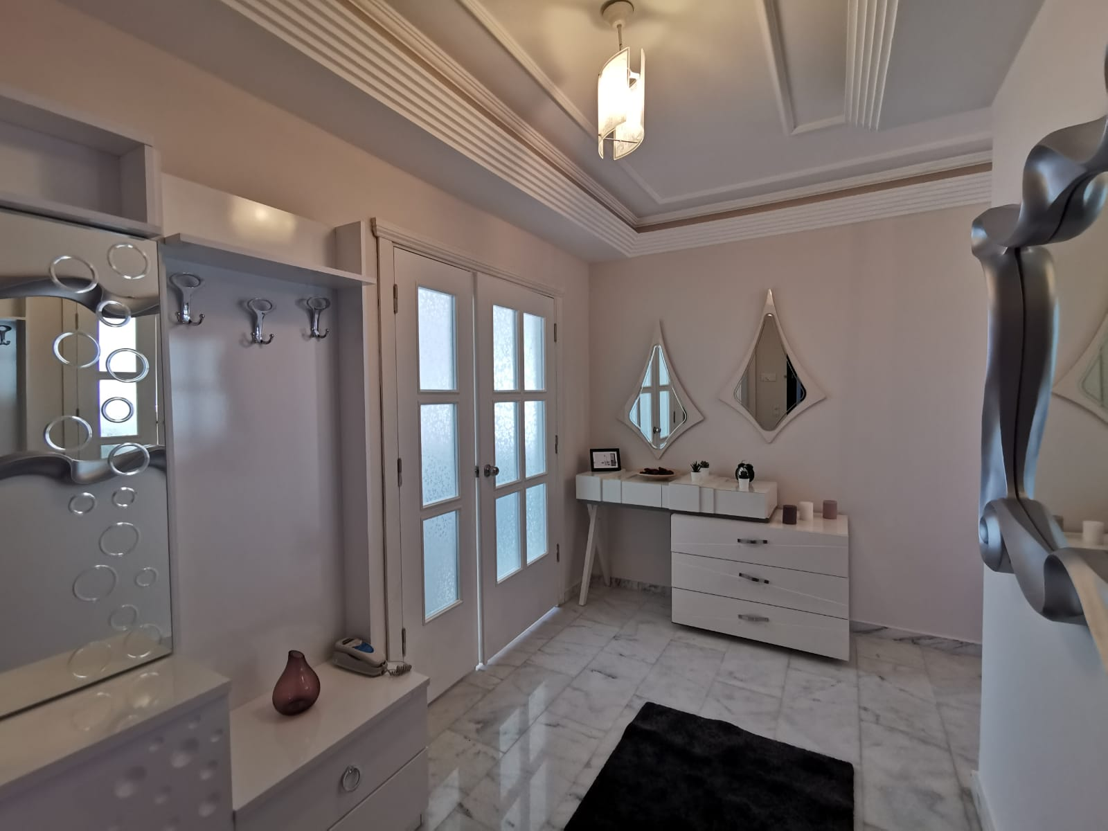 Алания Тосмур Меблированная Квартира с Видом на Море в Резиденции