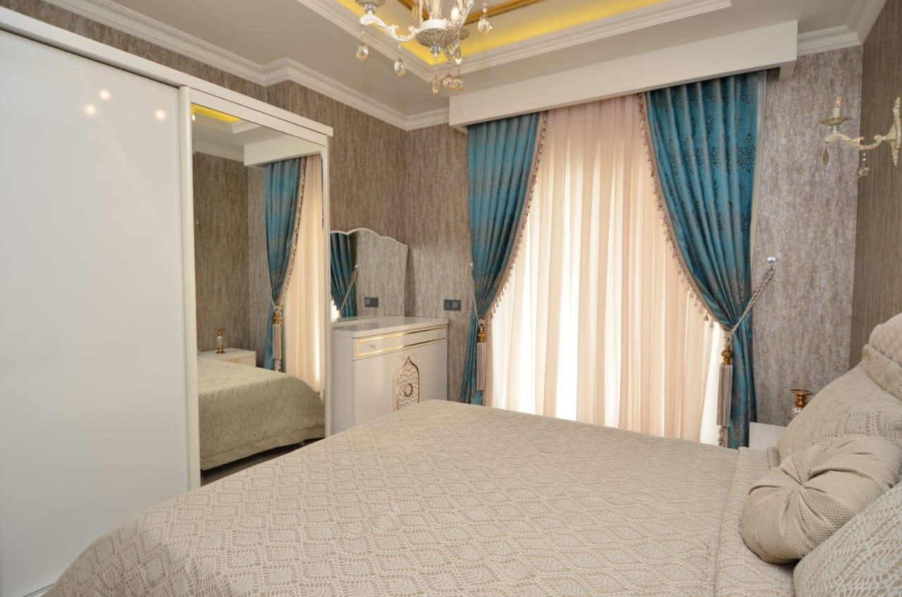 Меблированная 1+1 Квартира в резиденции класса люкс
