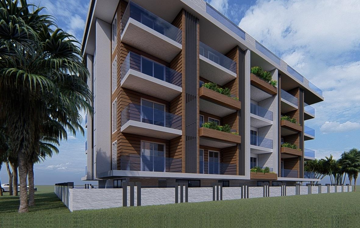 Квартиры в элитном доме у пляжа Клеопатра