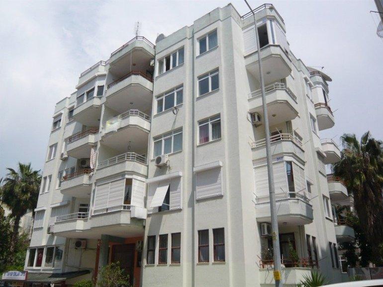 2+1 Меблированная квартира в районе пляжа Клеопатра