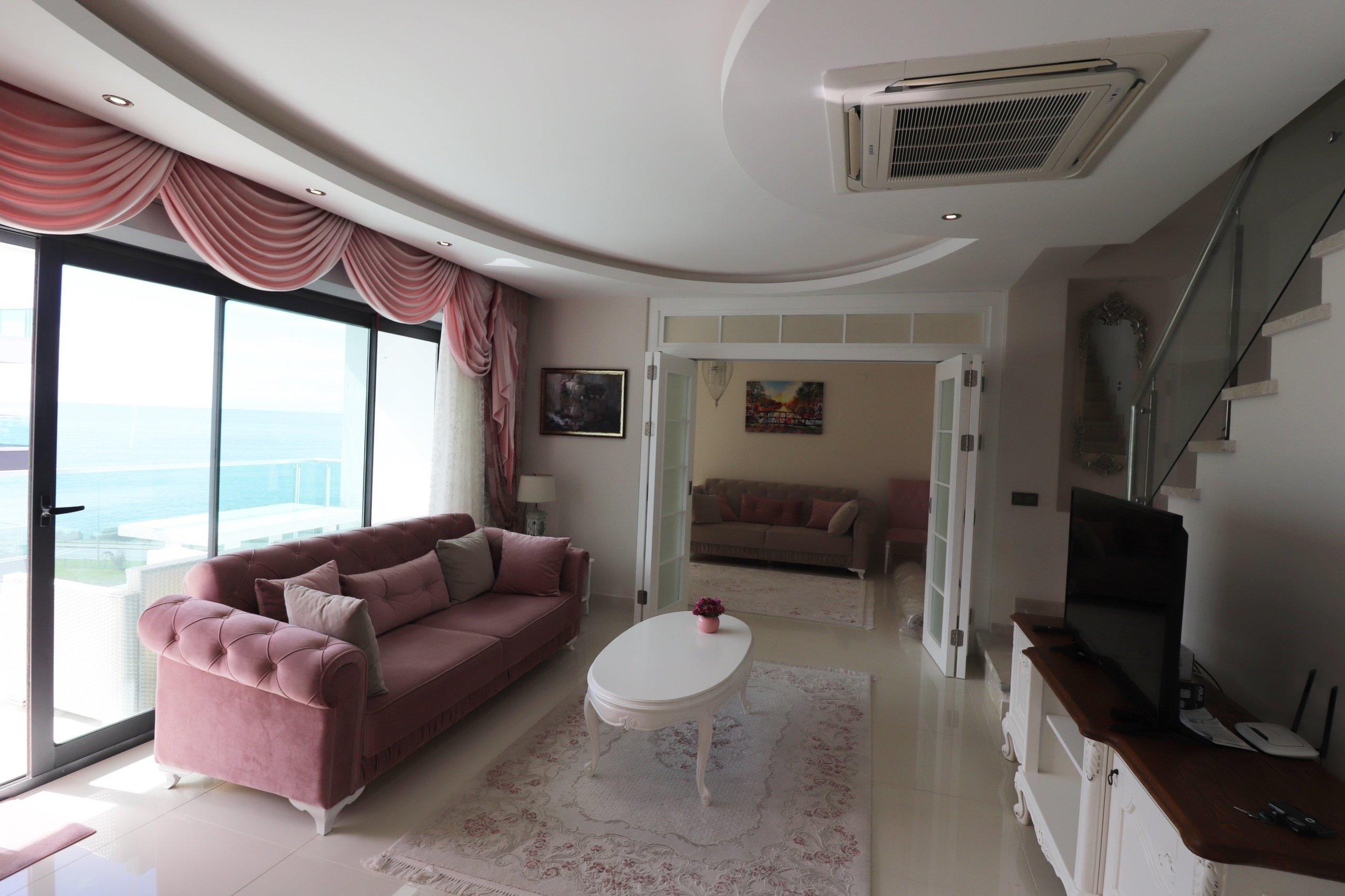 Алания Каргыжак Квартира-Пентхаус с Видом на Море