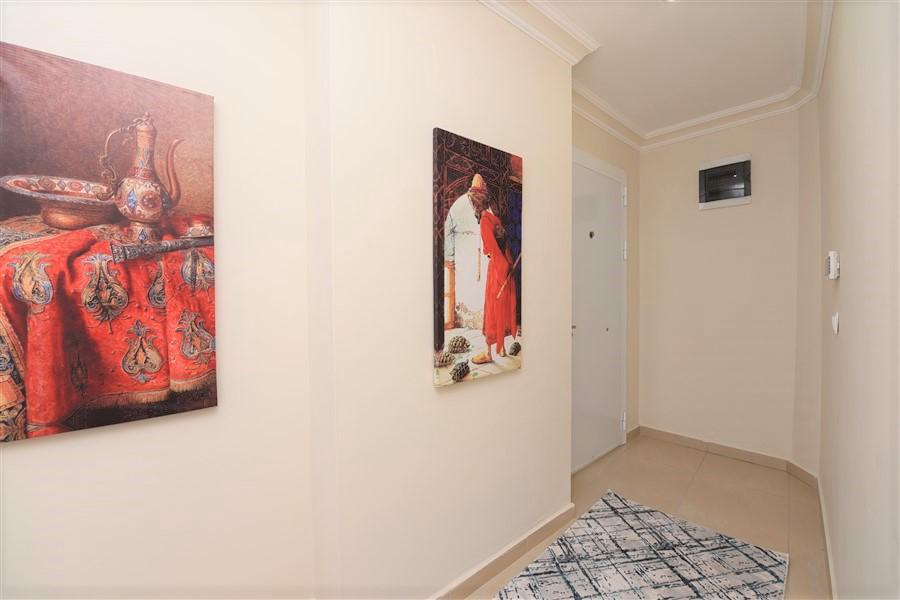 Алания Махмутлар Меблированная Квартира 1+1 в Доме с Бассейном