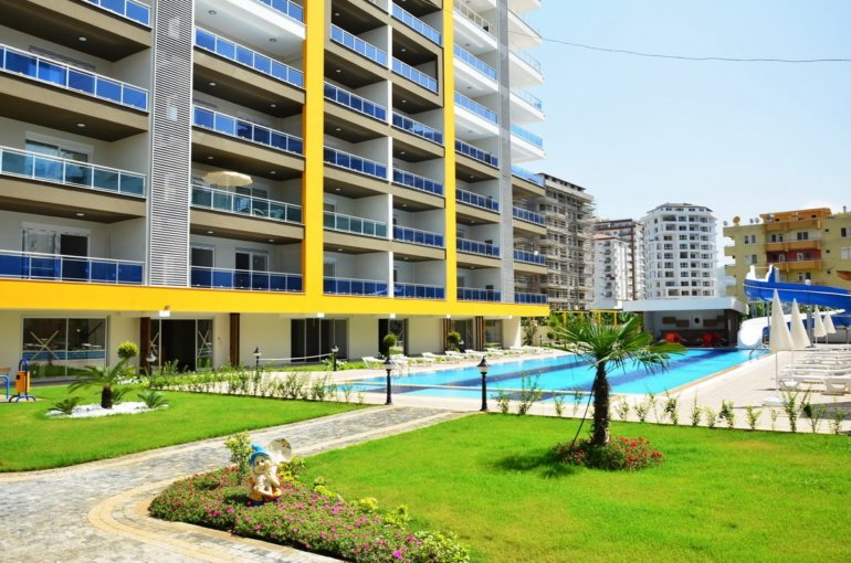 Элитные апартаменты для отдыха в ультра современном комплексе