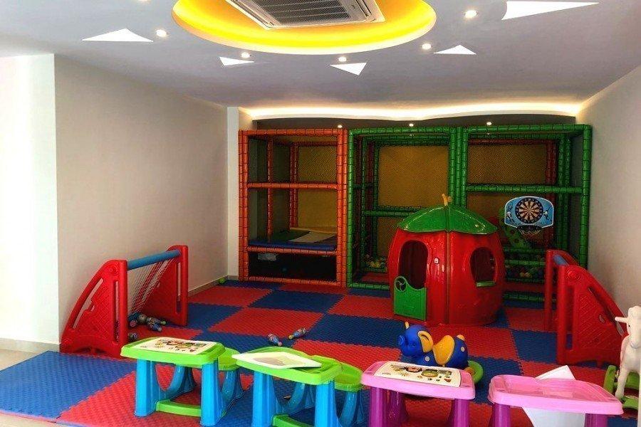 Алания Каргыджак Меблированная Двухуровневая Квартира в Комплексе Класса Люкс