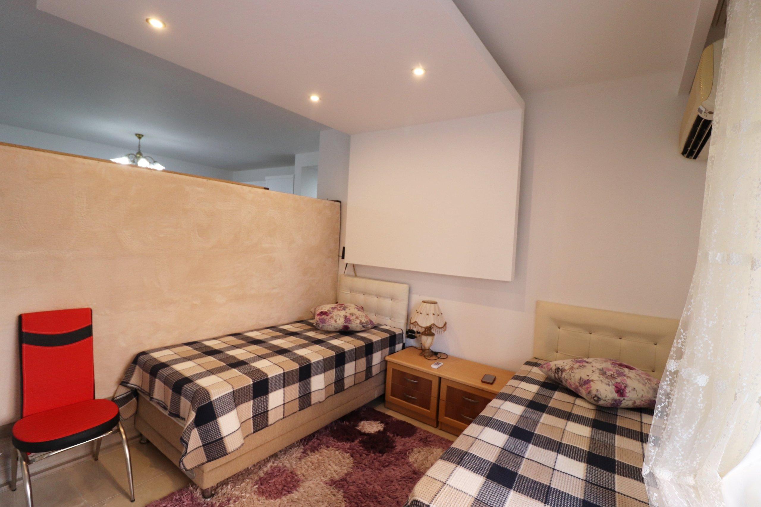 Очень просторная меблированная квартира в Махмутларе