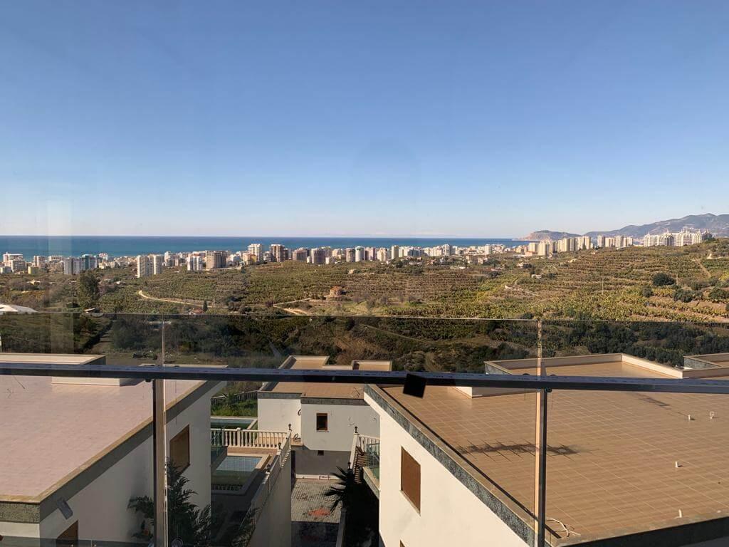 4+1 Частная шикарная люкс вилла с панорамным видом на море