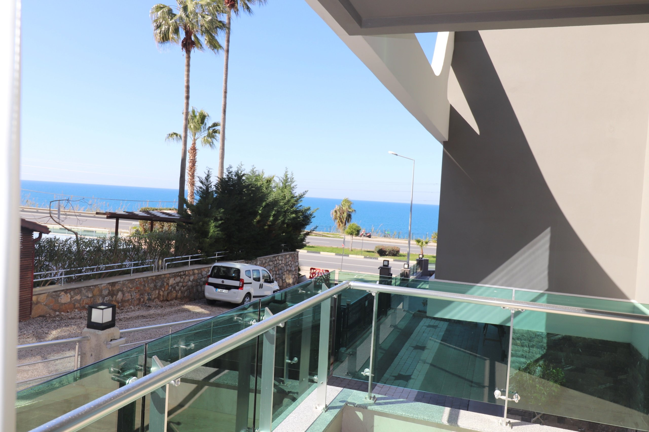 Алания Каргыжак Меблированная  Квартира 2+1 с Видом на Море