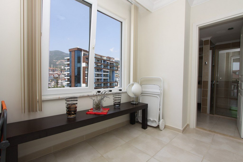Алания Джикджилли Меблированная  Квартира 2+1 на Высоком Этаже в Комплексе