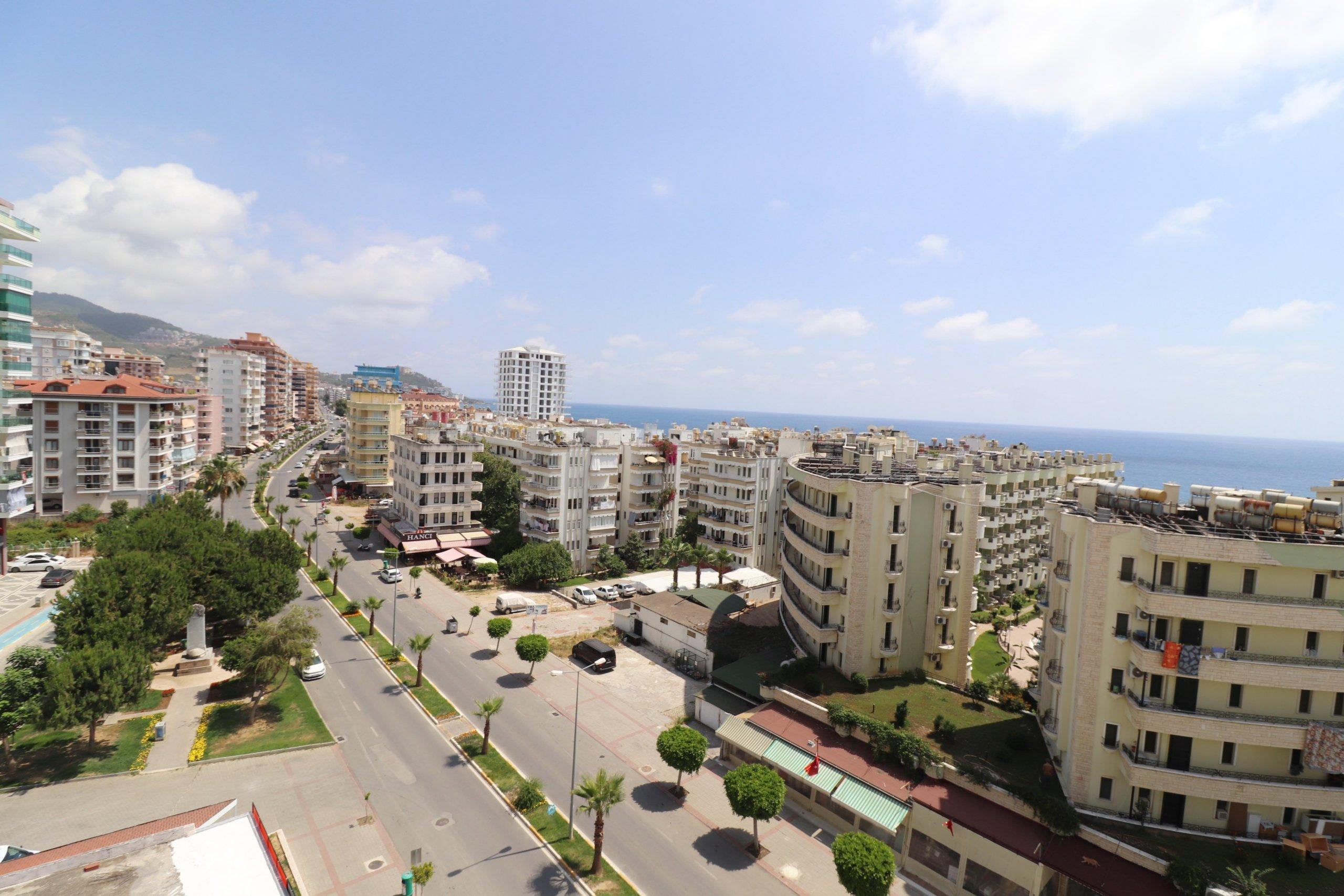 Алания Махмутлар Продажа Квартиры 1+1 с Видом на Море