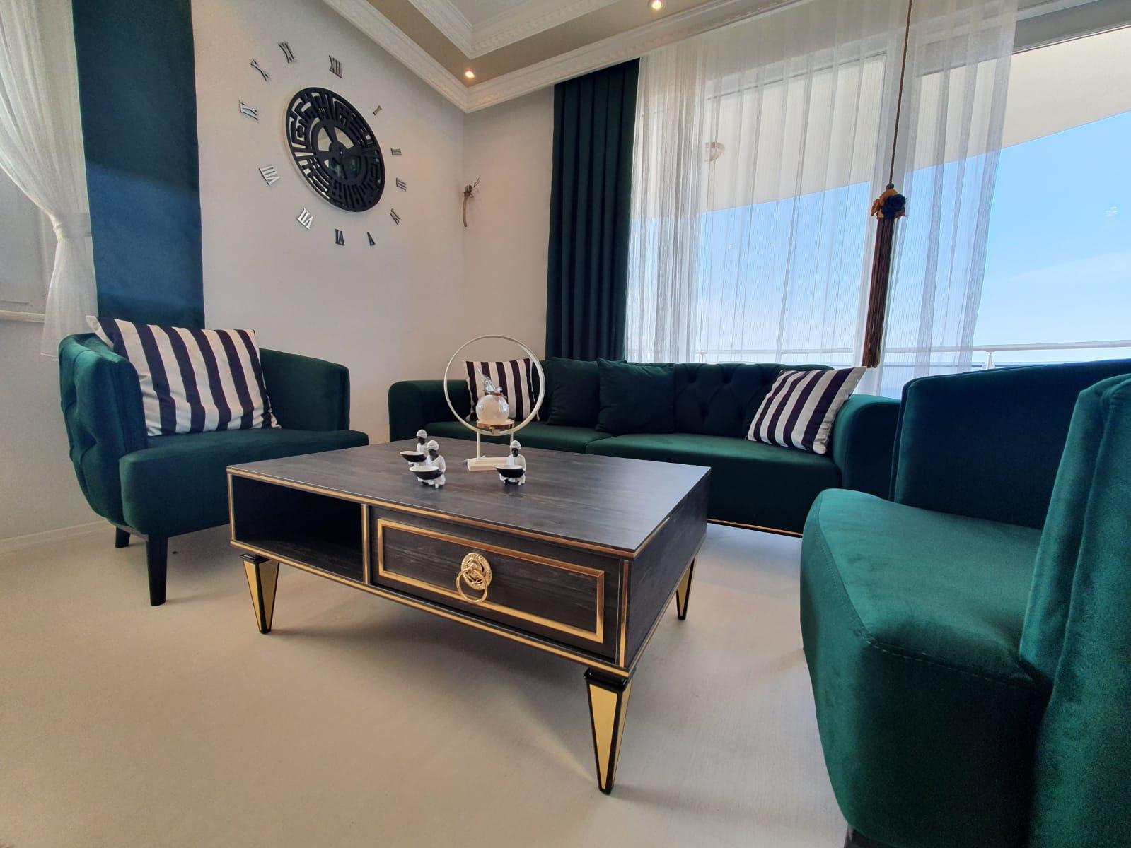 Алания Махмутлар Продажа Квартиры 2+1 с Видом на Море