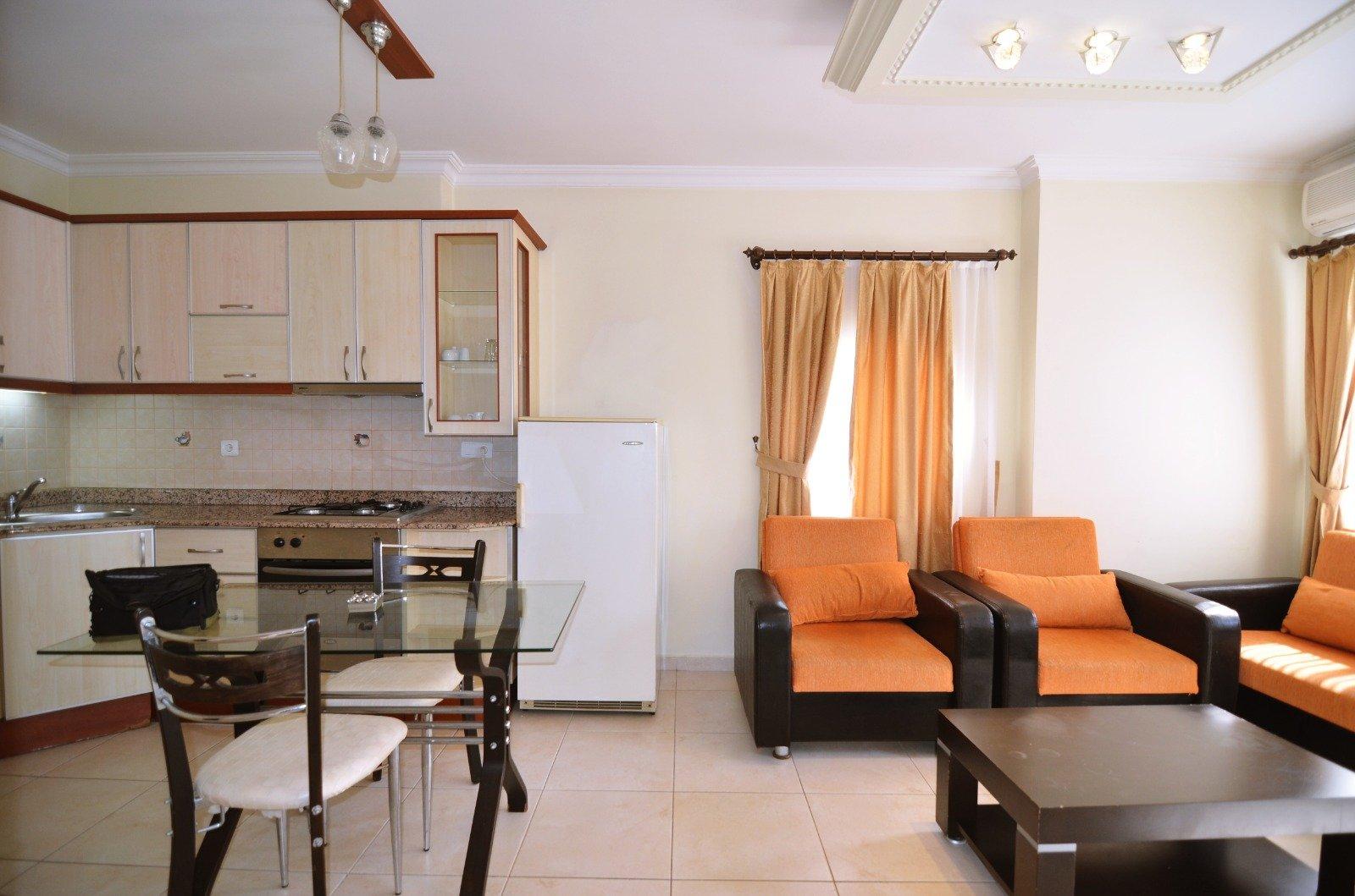 1+1 Квартира в центре города с инфраструкторой на территории  комплекса