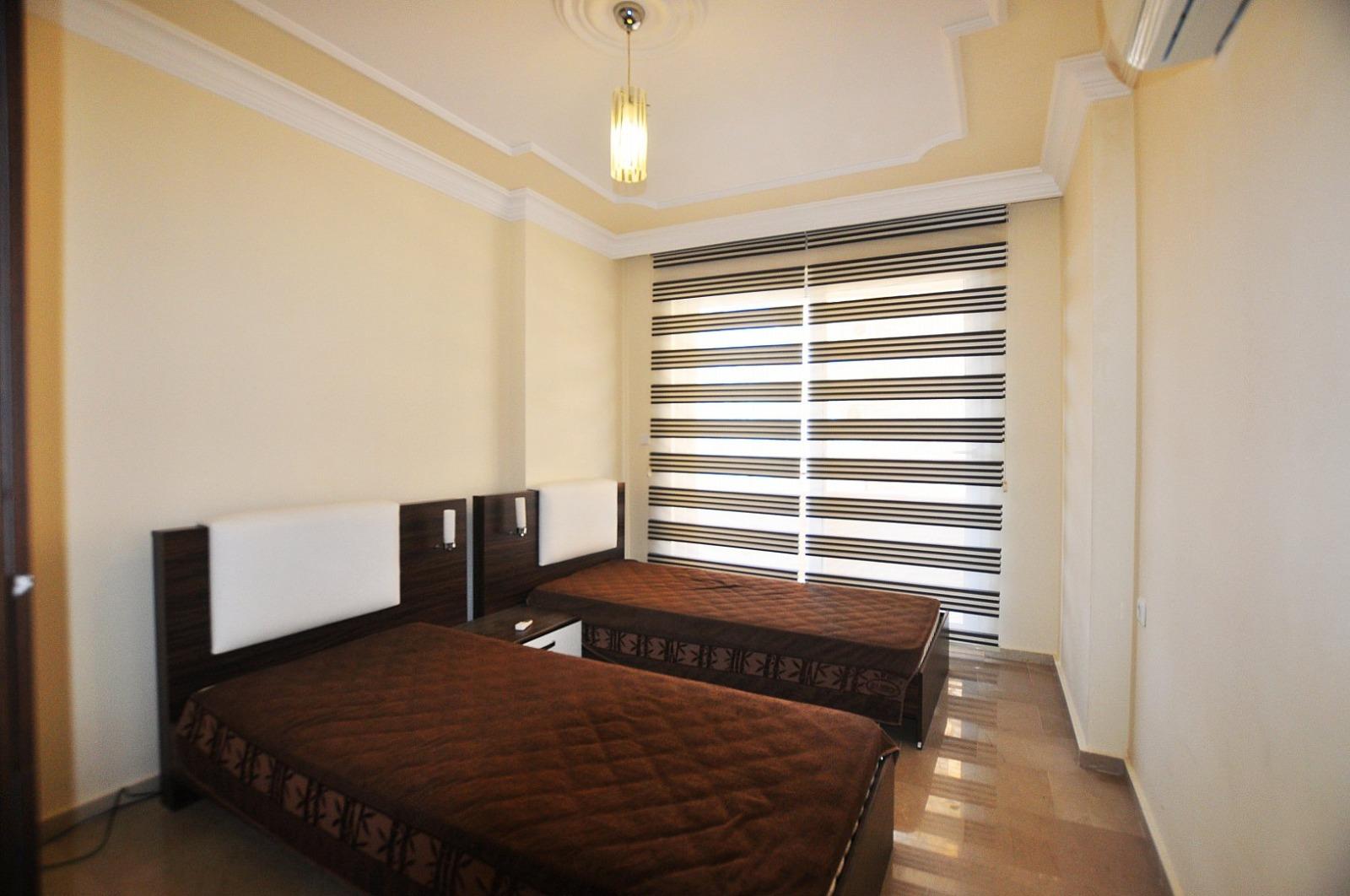 Трехкомнатная меблированная квартира в Махмутларе
