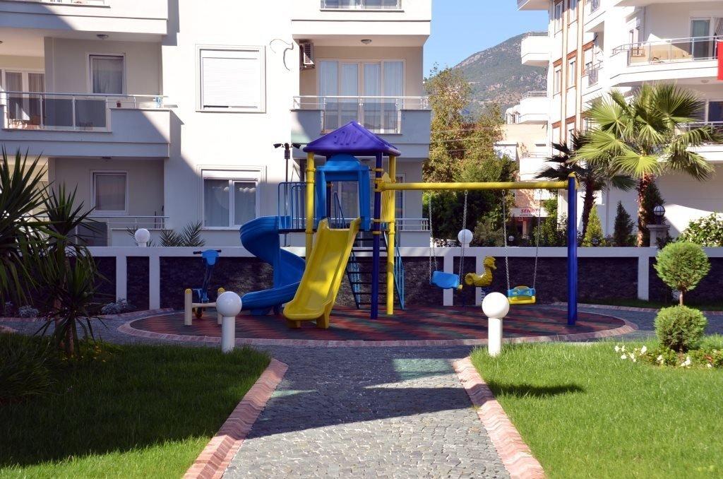 3+1 Обустроенная мебелью квартира в комплексе с инфраструктурой на территории