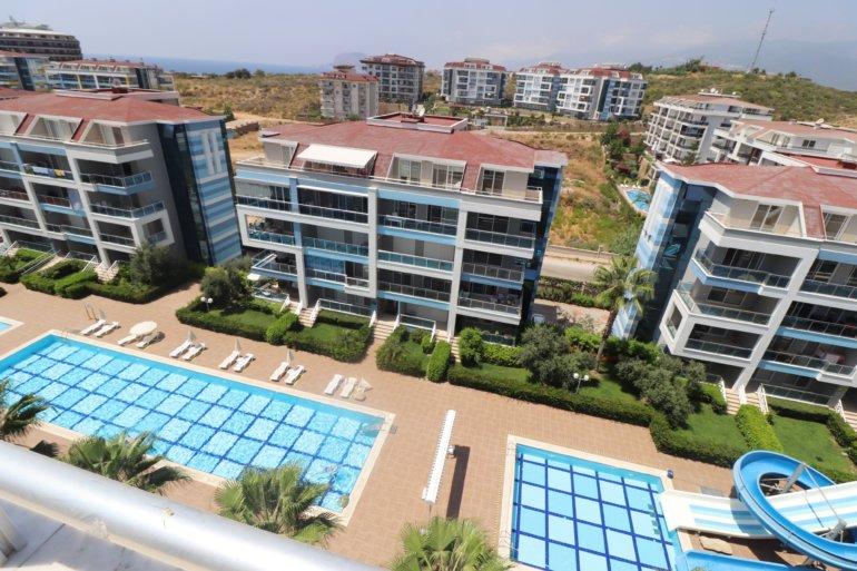 3+1 Меблированный пентхаус в красивом жилом комплексе в долгосрочную аренду