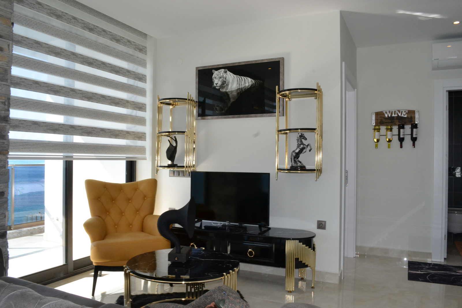 Алания Махмутлар Продажа Квартиры 2+1 в Резиденции Класса Люкс