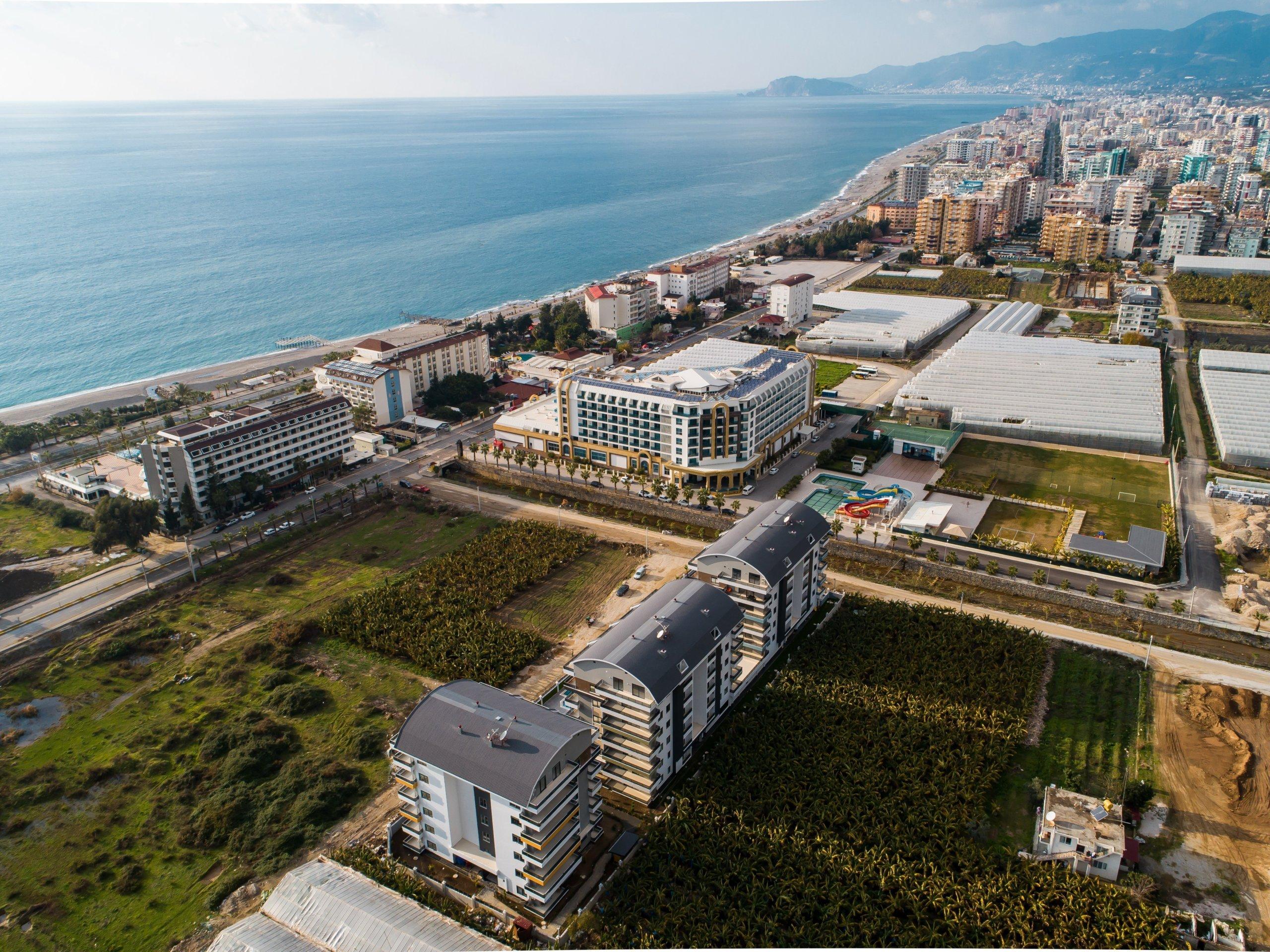 Квартира 1+1 в современном элитном комплексе у самого моря