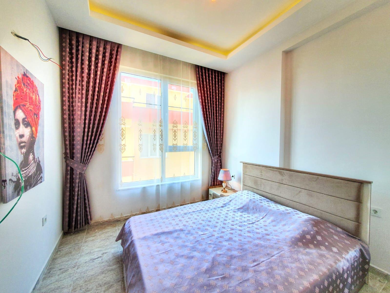 Алания Махмутлар Квартира 1+1 с новой мебелью